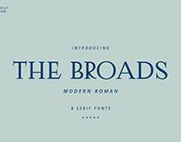 The Broads Font