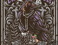 Close Quarters album and t-shirt illustration