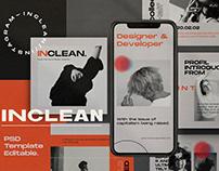 INCLEAN - Social Media Kit Bundle