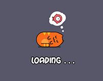 Liquid Cat game GUI
