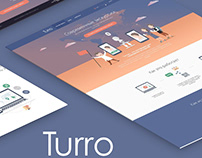 Responsive design Turroo - platform for excursions