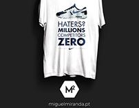 Nike Zero - Haters? Millions. Competitors, ZERO.