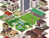 Isometric Game Buildings