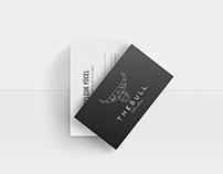 THEBULL Studio Logo & Visual Identity