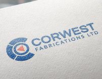 Corwest Fabrications logo refresh