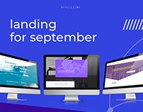 landing for september