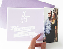 Wedding Invitation J&T