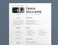 Resume Tania