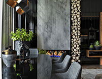 Modern style apartment