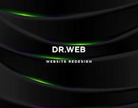 Dr.Web   Website redesign