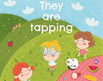 """They are tapping"" picture book"