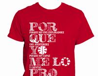 Camiseta #PorqueYoMeLoPropuse