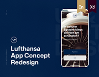 Lufthansa App Concept Redesign