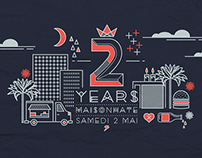 Maisonhate 2 years anniversary