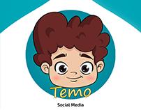 Temoland APP - Social Media Design Ramdan