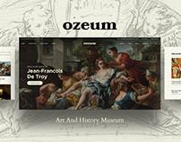 Ozeum | Art Gallery and Museum WordPress Theme