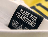 Only Champions - Motivational Wear