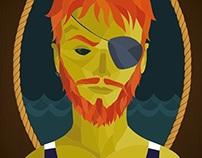 Aye aye, captain! // Ilustração