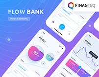 Flow Bank - Mobile App UX
