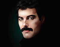 Freddie Mercury - Time-lapse
