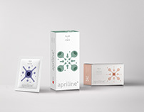 Apriline. Packaging for anti-aging cosmetics