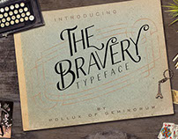 Free Font of the Week - The Bravery