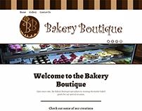 Bakery Boutique Website Design