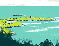 Dalkey Screenprint