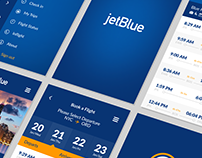 JetBlue Airlines - New APP Design (TEASER)