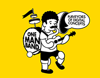 One Man Band Logo & Website Design