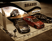 Brabus Exhibition design - Dubai Automobile Show 2015