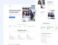 Godaa - Landing Page Template