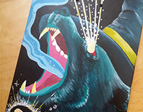 The Cosmic Wizard Bear