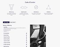 Elegance Co-Working - Web Development/Design