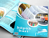 Köpük Kart Brochure and ID Card
