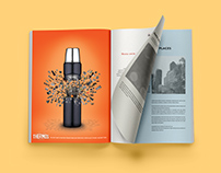 Thermos Brand Advertising Campaign Concepts