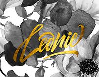 Leonie | Custom Lettering Logo