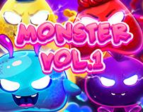 Monsters Collection Vol.1 Oscar Creativo
