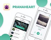 Prana Heart Meditation iOS Mobile App