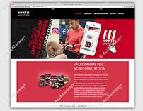 NORTH NUTRITION – Website Design Development Service