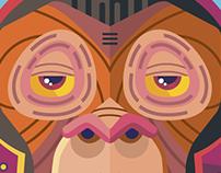 El mono / Space Monkey