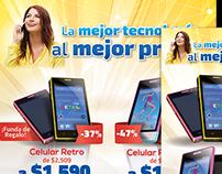 Campañas para la Tienda virtual Lagushop