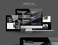 IMOPLAN - Responsive one-page presentation website