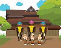 Avikaa Thrisuur Pooram Programs 2016 Illustration Post