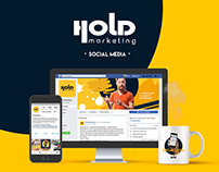 Social Media: Coleção Hold Marketing