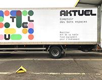Aktuel - Brand identity