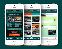 Car Mobile App Design
