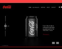 COCA COLA -WEB CONCEPT