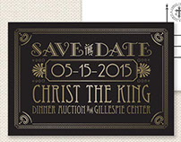 Gatsby-Inspired Save the Date