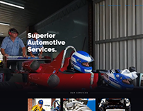 Superior Automotive Services Website Design